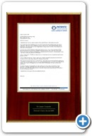 Jamie Cesaretti, MD: Repeat Winner Patient's Choice Award letter 2010