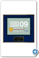 Jamie Cesaretti,                            MD: Patient's Choice Award 2009