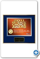 Jamie Cesaretti, MD: Patient's Choice Award 2011