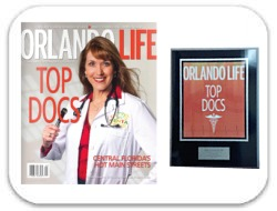 Orlando Life Magazine's Top Doctors Award 2014